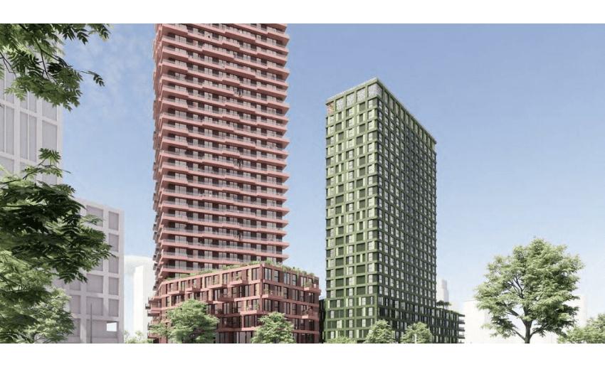 Project The Stage in het Nieuws. Oost Toren verkocht!